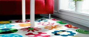Обзор безворсовых ковров в детскую комнату